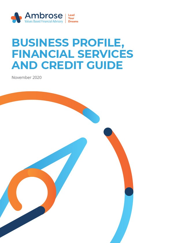Download the November 2020 Business Profile, Financial Services and Credit Guide